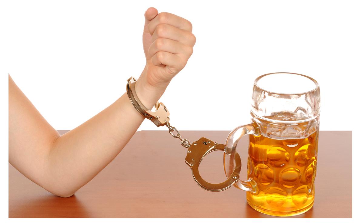Os meios que o marido não pode beber o álcool